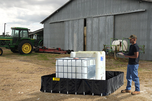 Ultra Tech 8260,Ultra-Containment Berm, Agriculture Model, 8'x8'x20""