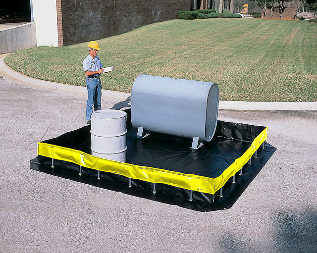 Ultra Tech 8402,Ultra-Containment Berm, Collapsible Wall Model, 15' x 66'