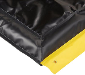 "Ultra Tech 8420,Foam Wall Berm - Copolymer 2000 10 ' x 26' x 4"" - Black"
