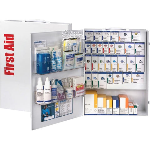 XL Metal SmartCompliance General Business First Aid Cabinet without Meds
