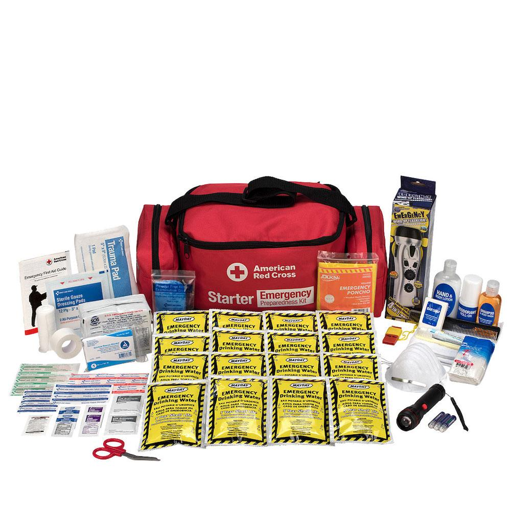 Emergency Preparedness Backpack Red Cross Starter