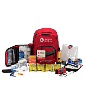 Emergency Preparedness Backpack Red Cross Deluxe