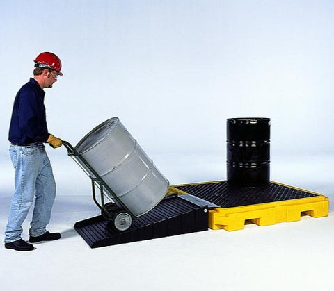 Ultra Tech 9630,Ultra-Spill Pallet P4 Plus, no drain