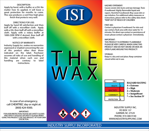ISI THE WAX 32 OZ.