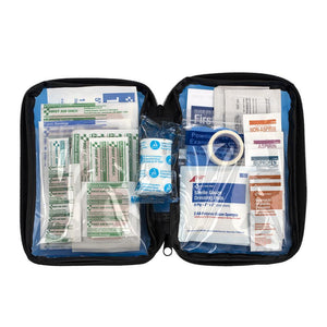 First Aid Kit, 81 Piece, Fabric Case