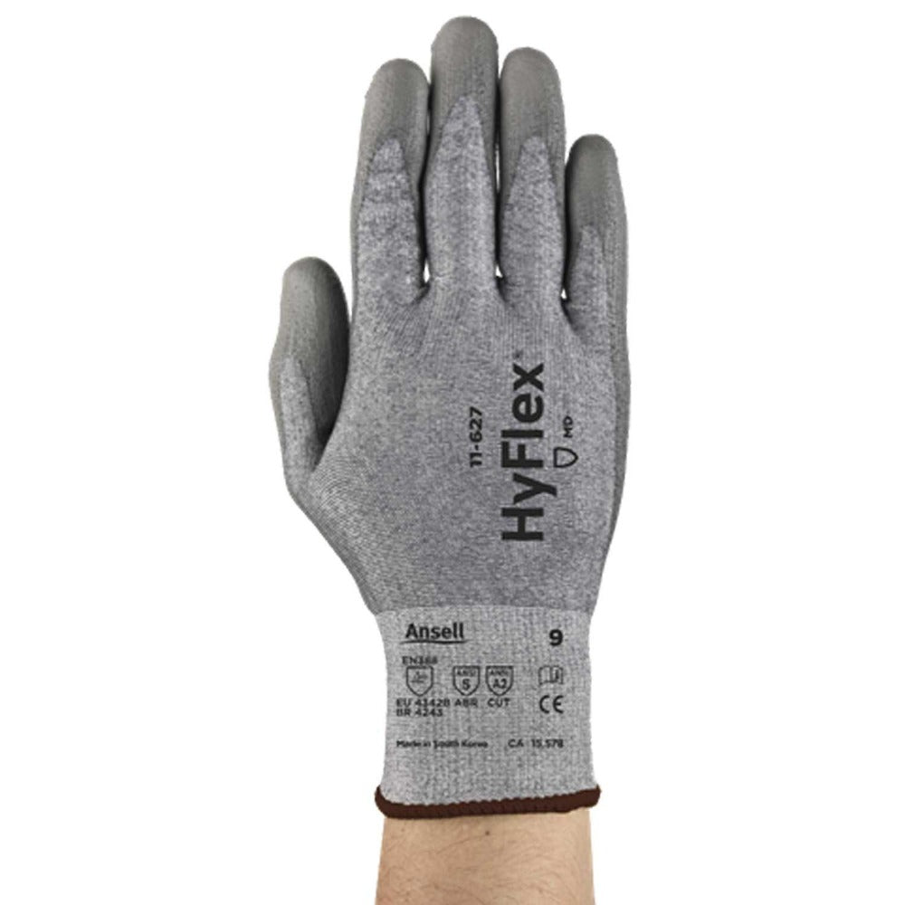 Ansell 11-627 Cut Resistant Gloves Gray