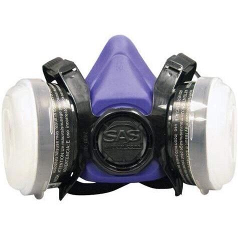 SAS Bandit Half Mask with Organic Cartridge and N95 Filter Niosh Approved