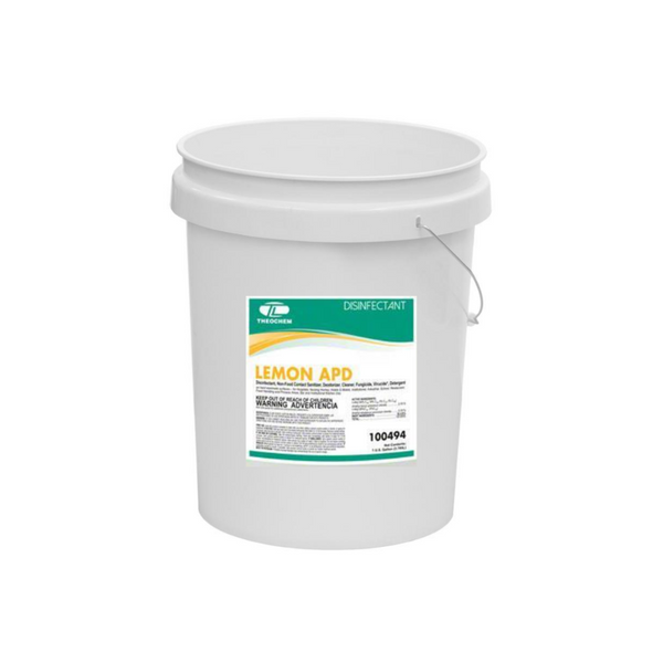 lemon disinfectant concentrate APD | 5 Gallon