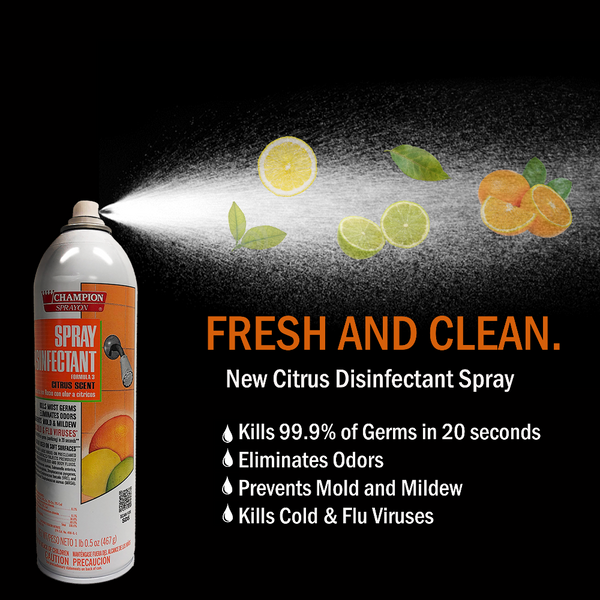 citrus disinfectant spray fruity smells and facts