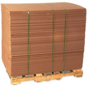"Corrugated Pallet Sheets 40""x48"" 250/Pallet"