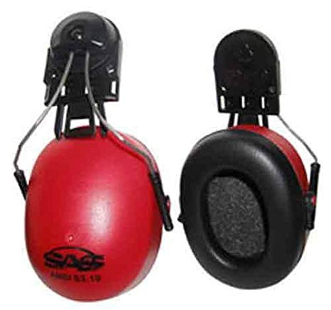 Hard Hat Earmuff With Attachment Hardware