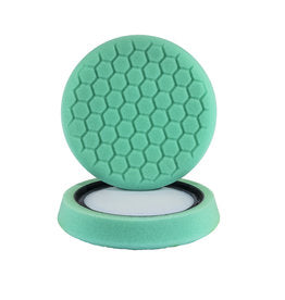 "GREEN 7.5"" POLISH HEX PAD"