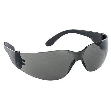 NSX Safety Glasses Black Temple Gray Lens