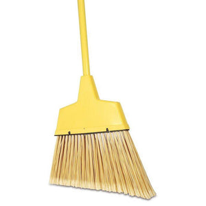 Large Angle Broom with Handle