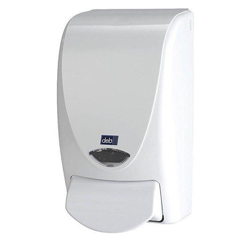 White 1 Liter Foaming Soap Dispenser