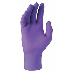 Kimberly Clark KCC55081 Purple Nitrile Exam Gloves 100/Box