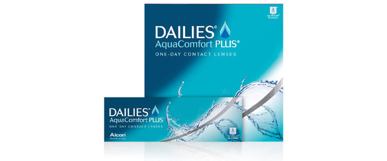 DAILIES AquaComfort PLUS (From £14.35)