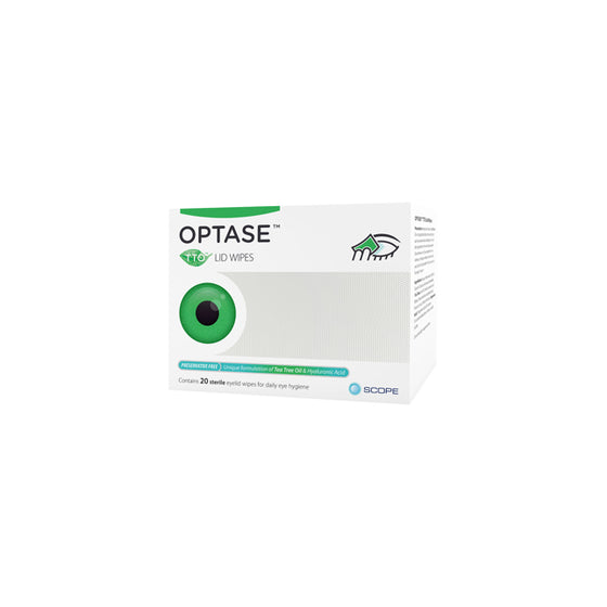 Optase (Tea Tree Oil) Lid Wipes
