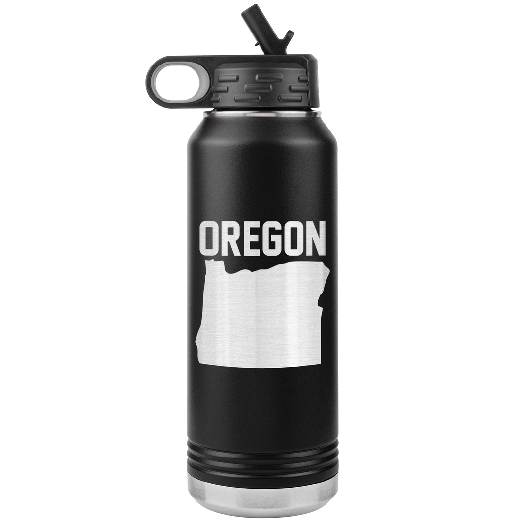 Oregon 32oz Water Bottle Tumbler
