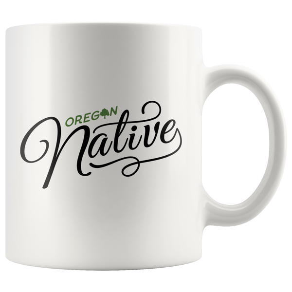 Oregon Native Mug
