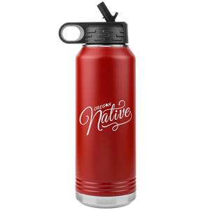 32oz. Water Bottle Oregon Native Tumbler
