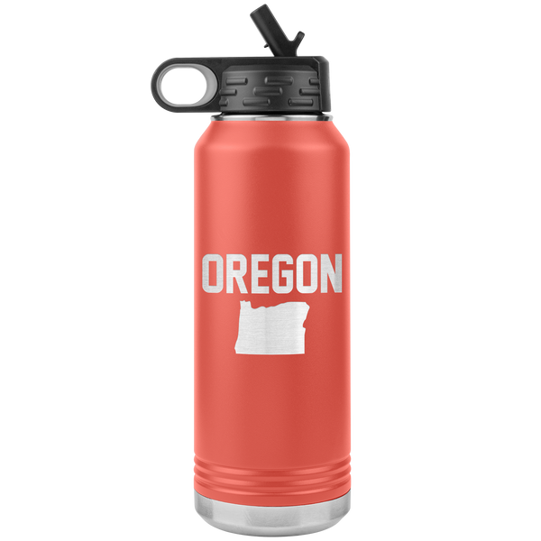 Oregon Life 32oz Water Bottle Tumbler