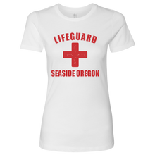 Load image into Gallery viewer, Lifeguard Seaside Oregon T-Shirt Womens