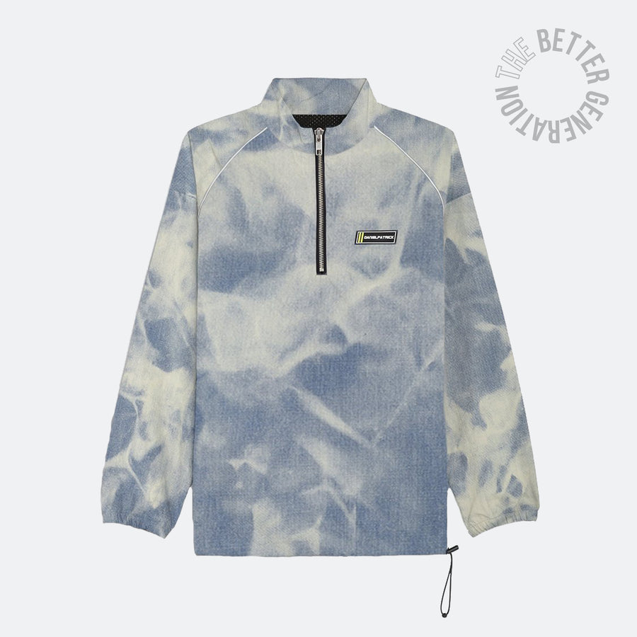 Daniel Patrick Pullover Jacket Cloud Denim
