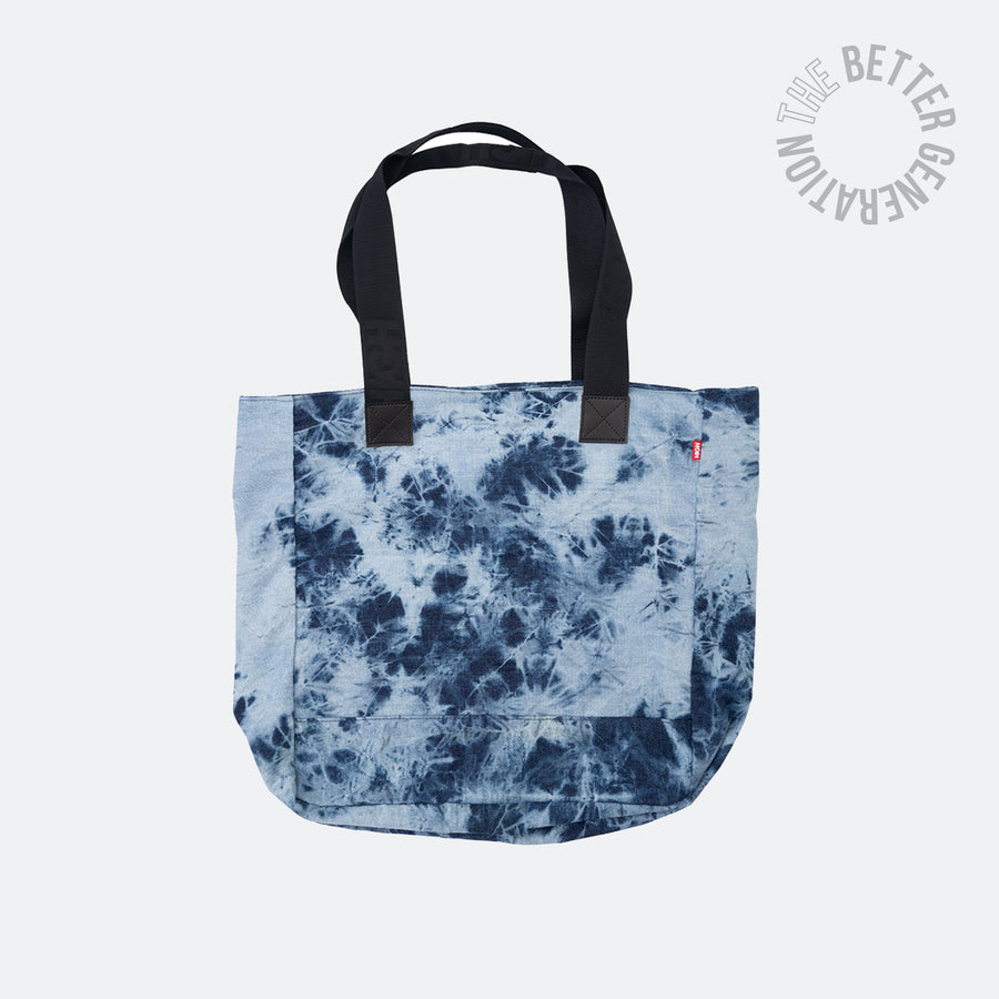 High Co. Bleached Jeans Tote Bag