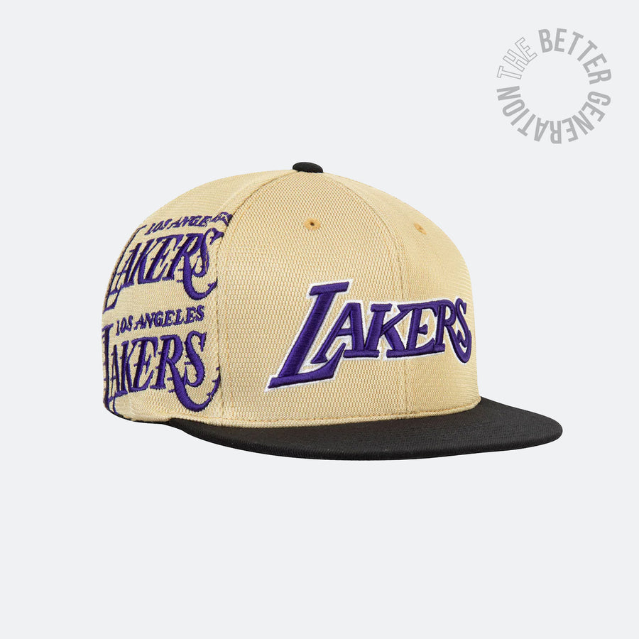 Los Angeles Lakers Gold Omni Snapback