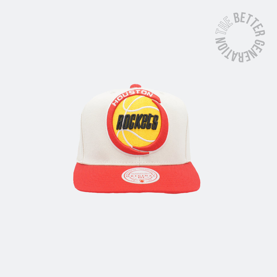 Mitchell & Ness Off White Rockets Snap