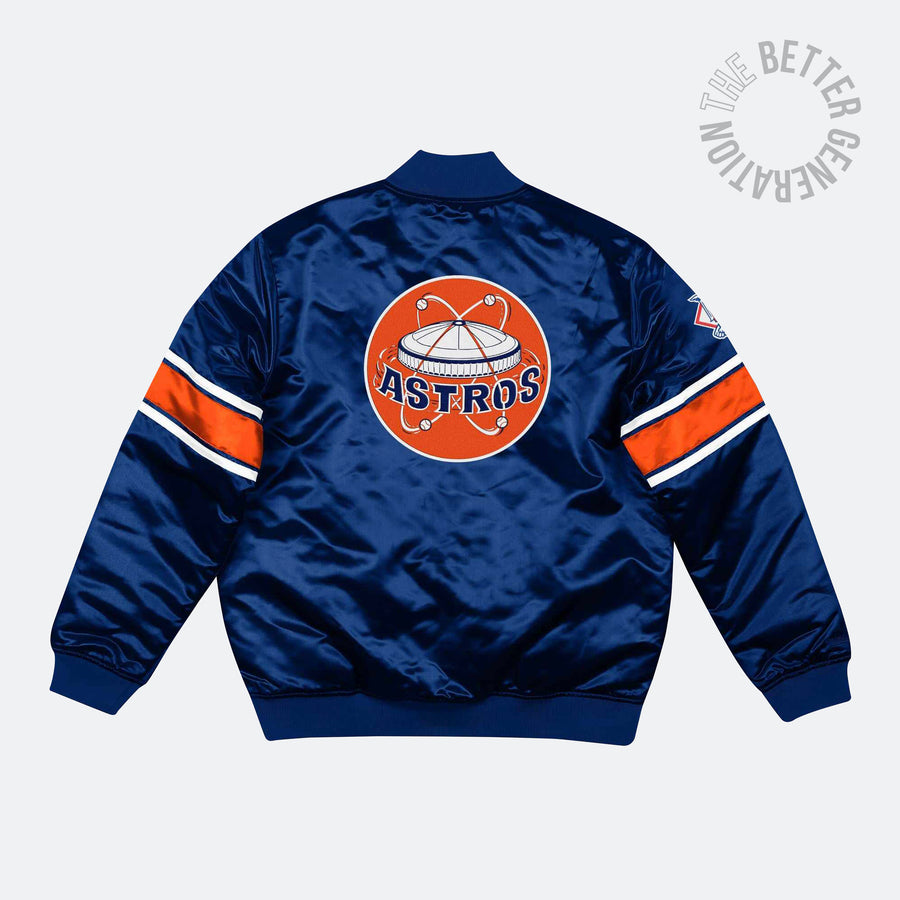 Mitchelle & Ness Astros Satin Jacket
