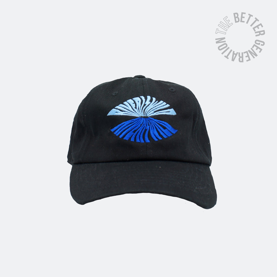 RiverIsWild Wave Logo Adjustable Cap