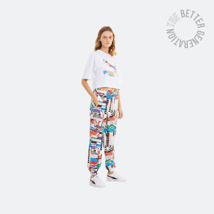 WMNS Puma INTL Game S/S Cropped Tee