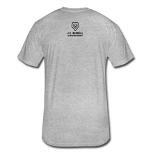 Load image into Gallery viewer, LIFTY HEAVY - Fitted Cotton/Poly T-Shirt - heather gray