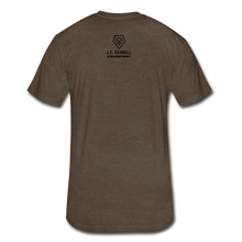 Load image into Gallery viewer, LIFTY HEAVY - Fitted Cotton/Poly T-Shirt - heather espresso