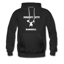 Load image into Gallery viewer, Jersey City Barbell Hoodie - black