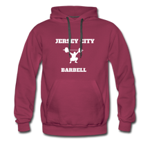 Load image into Gallery viewer, Jersey City Barbell Hoodie - burgundy