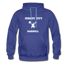 Load image into Gallery viewer, Jersey City Barbell Hoodie - royalblue