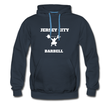 Load image into Gallery viewer, Jersey City Barbell Hoodie - navy