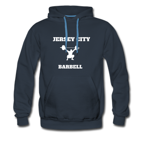 Jersey City Barbell Hoodie - navy