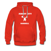 Load image into Gallery viewer, Jersey City Barbell Hoodie - red