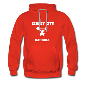 Jersey City Barbell Hoodie - red