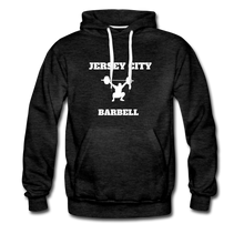 Load image into Gallery viewer, Jersey City Barbell Hoodie - charcoal gray
