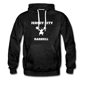 Jersey City Barbell Hoodie - charcoal gray