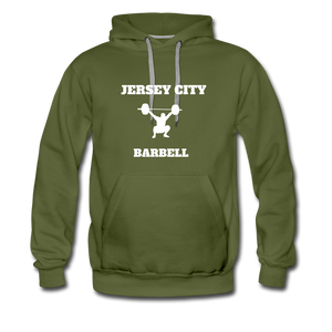 Jersey City Barbell Hoodie - olive green