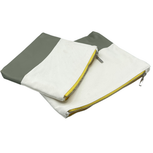 CARRYALL - CANVAS POUCH SET - GRAY