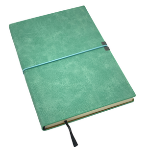 JOURNAL - TEAL LEATHERETTE