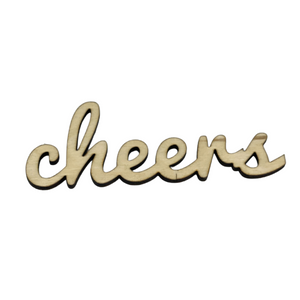 WOODEN EXPRESSION - CHEERS