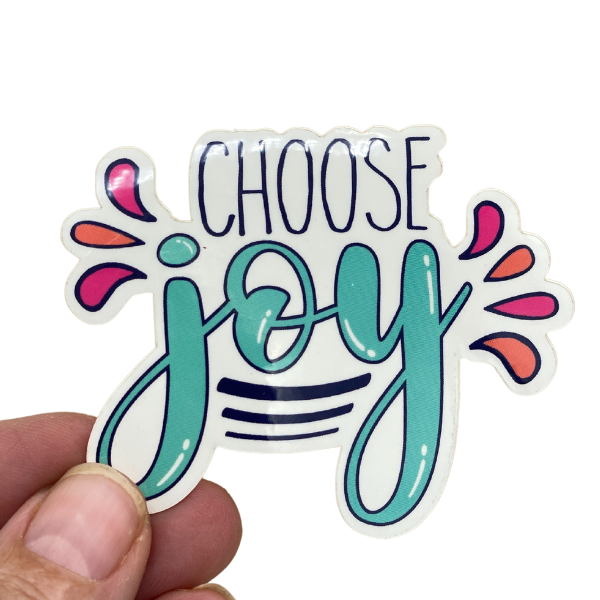 STICKER - CHOOSE JOY